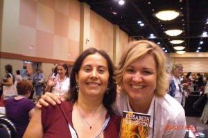 Literacy signing with Elizabeth Naughton