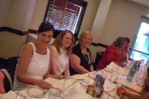 Thursday - Carina Press blogger and reviewer dinner 2 (Jayne Hoogenberk, AAR Lynn, Barbara Vey, Malle Vallik and Kristie (J)