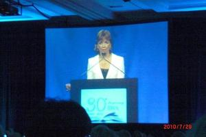 Thursday luncheon - Nora Roberts is classy, even when cursing.