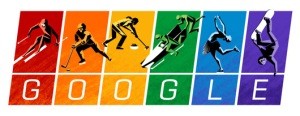 Google Doodle - protest Putin at Sochi