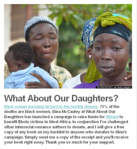 Roslyn Holcomb - What about our daughters - black women and ebola