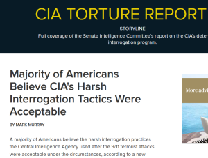 Torture report headline