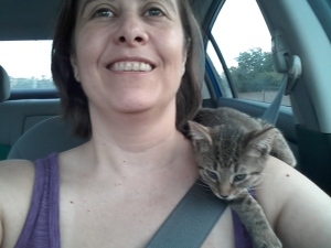 Riding my shoulder
