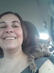 Still a shoulder kitteh